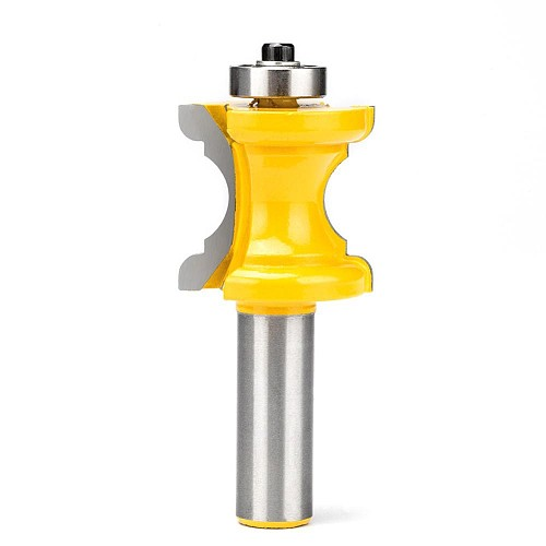 1pc Trim Router Bit  1/4  Shank Woodworking Tools Concave Nose Knife Table And Chair Waist Line Tungsten Carbide Milling