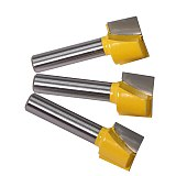 leaning bottom Engraving Bit solid carbide router bit, Woodworking Tools CNC milling cutter end mill