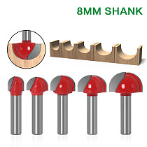 1pcs 8  Shank Double Edging Router Bits for wood cove box bit Tungsten Carbide Woodworking endmill miiling cutter