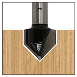 Industrial Grade Router Bits , wood 90 Deg V Type slotting cutter Tungsten Woodworking Carving TooL