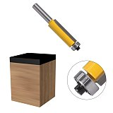 Trim Router Bit with Bearing ,Wood Template Pattern Bit Tungsten Carbide Milling Cutter for Wood
