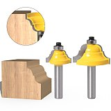 Corner Round Over Router Bit, with BearingMilling Cutte,Wood Woodwork Tungsten Carbide