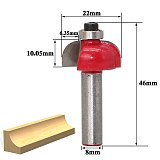 Milling Cutter Router Bit Set,Wood Cutter Carbide Shank Mill Woodworking Engraving Cutting Tools