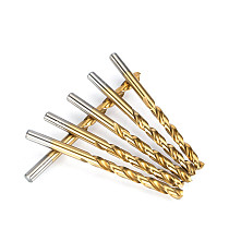 10 pcs A Set Twist Drill Bit Dia. 1.0-6.9mm Solid Carbide Drill Bits For Hard Metal Drilling For Aluminium Copper Steel