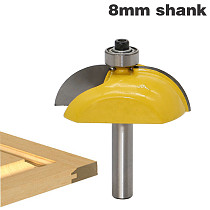1pcs 8mm Shank Raised Panel Cabinet Door Router Bit Set Woodworking cutter woodworking router bits carbide bit door knife