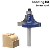 High Quality Round Over Edging Router Bit, Radius Wood Cutting Tool, woodworking router bits