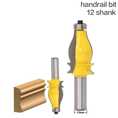 1PC Architectural Molding Router Bit - 12  Shank Tenon Cutter for Woodworking Tools
