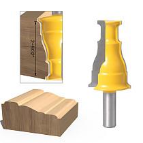 1Pc Door & Window Casing Router Bit - 1/2  Shank12mm shank Line knife Woodworking cutter Tenon Cutter for Woodworking Tools