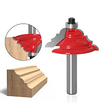 1Pc Table Edge Router Bit - French Baroque 8  Shank Line knife Woodworking cutter Tenon Cutter for Woodworking Tools
