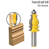 1PC Architectural Molding Router Bit - 1/2  Shank 12mm shank Tenon Cutter for Woodworking Tools - RCT-18002