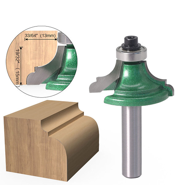 1Pc 8mm Shank classical oree bit Line knife Router Bit - Line knife Woodworking cutter Tenon Cutter for Woodworking Tools