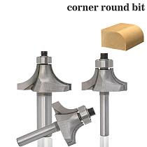 1Pc Round Over Edging Router Bit - 1/8  Radius - 1/4  Shank Woodworking cutter