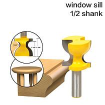 Window Sill, Stool Molding & Door Pull Edge Router Bit C3 Carbide Tipped Wood Cutting Tool woodworking router bits