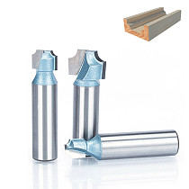 1pc 1/2  1/4  Shank Router Bits For Wood Industrial Grade Woodworking Tool Engraving Bit  Wood Cutting CNC Router Tool