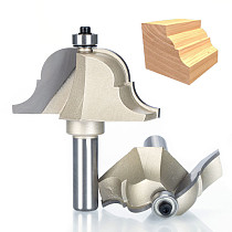 1pcs 1/2  Shank Router Bits for wood Roman Ogee Router Bit Double Edging Woodworking Tools endmill classical bit cutter