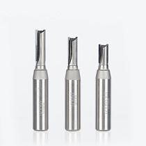1pc 1/2  Shank CVD Coating Straight Router Bits for wood Woodworking Cutter Slotter Engraving Machine Tool PCD Router Bit