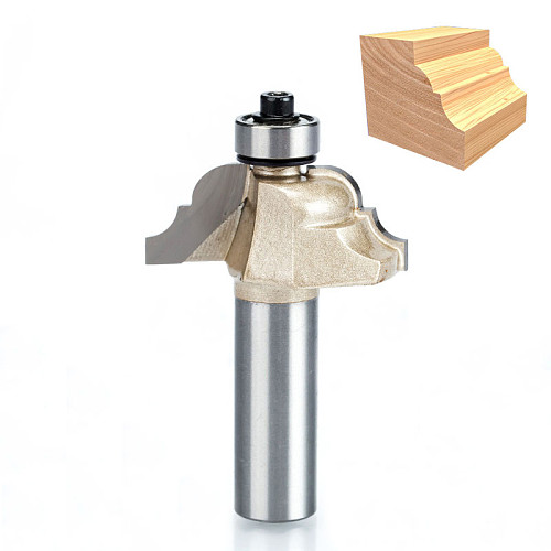 1pcs 1/2  Shank Roman Ogee Router Bit Double Edging Router Bits for wood Woodworking Tools endmill classical bit cutter