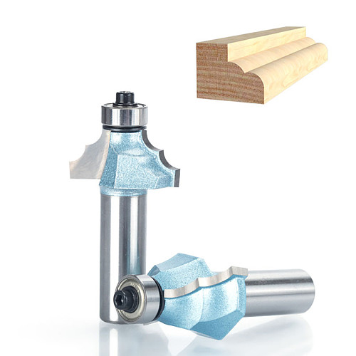 1pcs 1/2  Shank Industrial Grade Router Bits for wood classical mounlding bit Tungsten Carbide Woodworking endmill tools