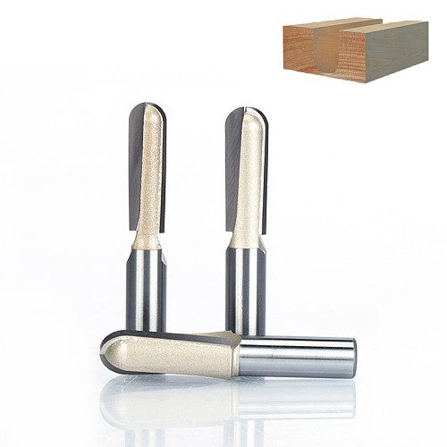 1pc  1/2  Shank Round Nose Router Bit Cove Box Woodworking Cutter Tungsten Carbide Router Bits for Wood Endmill