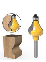 Bit 8mm Shank Handrail Router Bit Set - Standard/Flute Line knife Woodworking cutter Tenon Cutter for Woodworking Tool