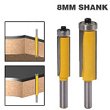 long blade flush bit, Flush Trim Router Bit, End Bearing For Woodworking Cutting Tool
