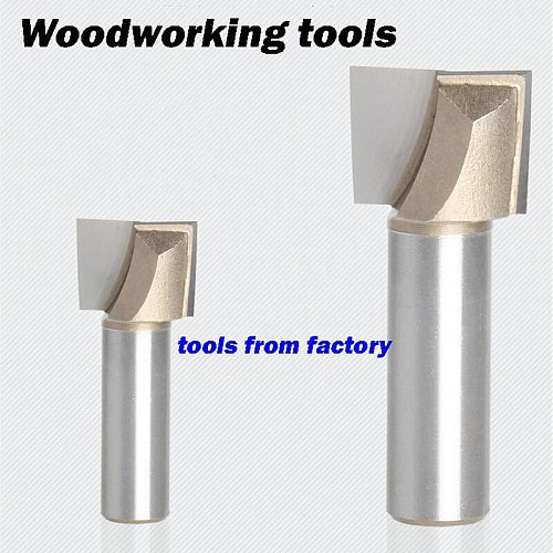 1pc wooden router bits 1/2*1-1/8 CNC woodworking milling cutter woodwork carving tool