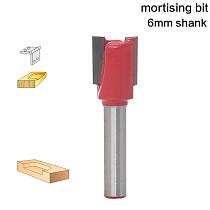 1pcs 6mm Shank wood router bit  high quality Straight/Dado Router Bit Diameter Wood Cuttin