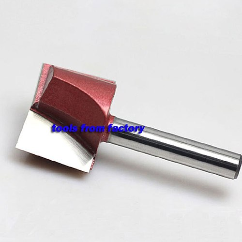 1pc 6*30 Woodworking Milling Cutter Cnc Carving Tools Wood Router Bits