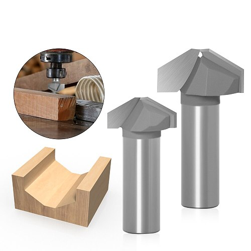 1pcs Set 12mm 1/2inch Shank Router Bit  Double Roman Ogee Edging Milling Cutter For Wood Woodwork Line Knife Hobbing
