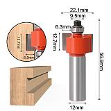 T type bearings wood milling cutter, Industrial Grade Rabbeting Bit ,woodworking tool router bits for woo