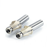 Drawing Line Router Bit ,Wood With Bearing Woodworking Tools two Flute endmill milling cutter