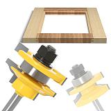 Stile & Rail Assembles-Bead Bit ,Round Over Door Knife ,Woodworking Tenon Cutter for Wood Too