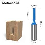 high quality Short Straight/Dado Router Bit, Diameter Wood Cutting Tool