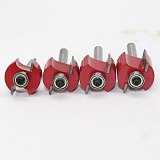 T  Type Bit With Bearing ,Dovetail Router Bit Cutter wood working
