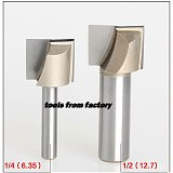 1pc wooden router bits 1/2*5/8 CNC woodworking milling cutter woodwork carving tool