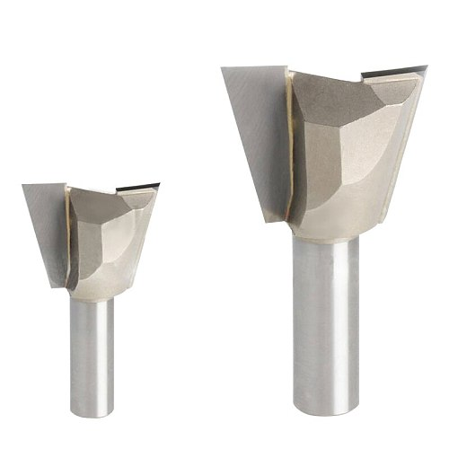 1pc 1/4*1/2 Woodworking cutter Dovetail milling cutter CNC engraving tool gong cutter 1/4 Shank
