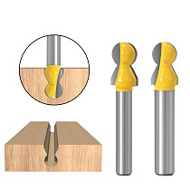 1pcs 8mm shank 1/4 inch router bit,Horizontal crown molding bits,Professional Woodworking Tool
