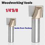 wooden router bits ,CNC woodworking milling cutter, woodwork carving tool 1/4 SHK