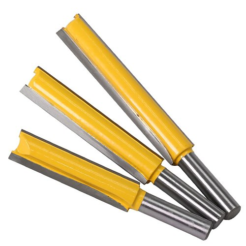1 pc Straight/Dado Router Bit 1/2  Dia. X 3  Length - 8  Shank Woodworking cutter Wood Cutting Tool