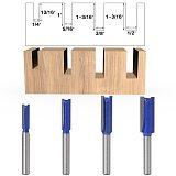 Straight Woodworking Router Bit Set ,Carpenter Milling Cutter