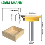 Drawer Front Joint Router Bit - Reversibl, Woodworking Chisel Cutter