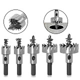 HSS Drill Bit ,High Speed Steel Carbide Tip Hole Saw, Tooth Cutter Metal Drilling Woodwork Cutting Carpentry Crowns
