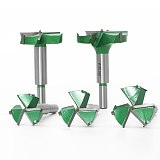 3 teeth Forstner tips Woodworking tools ,Hole Saw Cutter Hinge Boring drill bits, Round Shank Tungsten Carbide Cutter