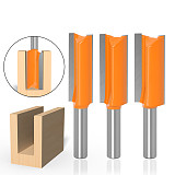 Flute Straight Bit Milling Cutter, Wood Tungsten Carbide Router Bit Woodwork Tool