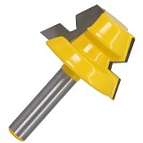 Lock Miter Router,Glue Joinery Router Bit Set, Tenon Cutter for Woodworking Tools