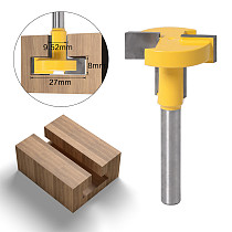 1pcs Top Quality T-Slot & T-Track Slotting Router Bit - 8 6mm Shank For Woodworking Chisel Cutter Wholesale Price