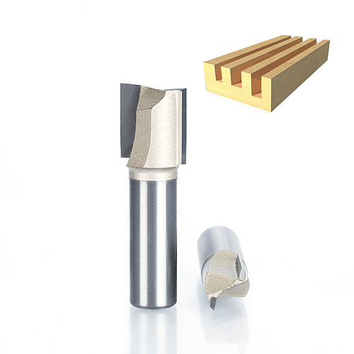 1pcs 1/2 1/4  Shank 2 flute straight Router Bits for Wood Tungsten Carbide endmill milling cutter Woodworking Tools