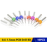 Import Carbide PCB Drill Bits ,Print Circuit Board Mini ,CNC Drilling Bit Set  Woodworking Tools