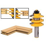 1pcs Rail & Stile Router Bit Ogee Stacked - 1/2  Shank