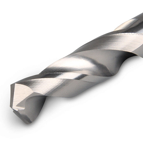 Carbide Alloy Drill Tungsten Steel Super Hard Stainless HRC50 Twist Bit Straight Handle Solid Drill For CNC Lathe Machine